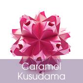 Caramel Kusudama