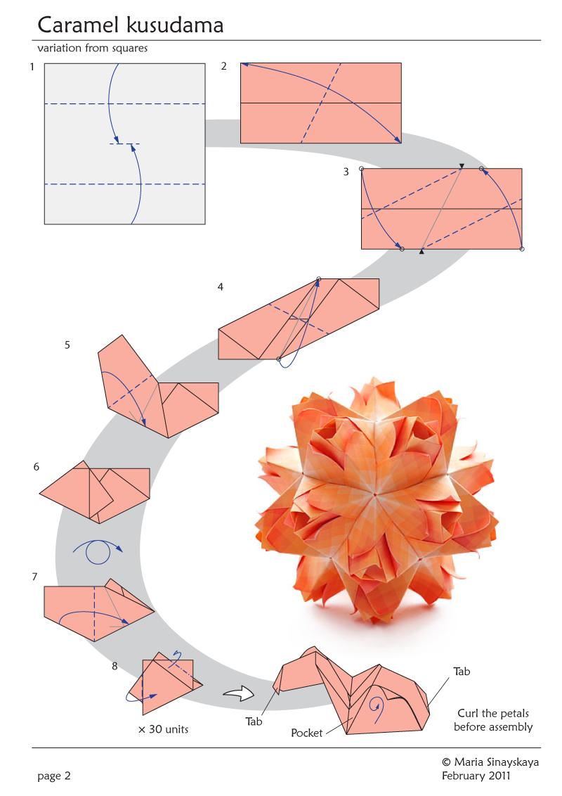 2nd Kusudama Flower Ball | 1132x800