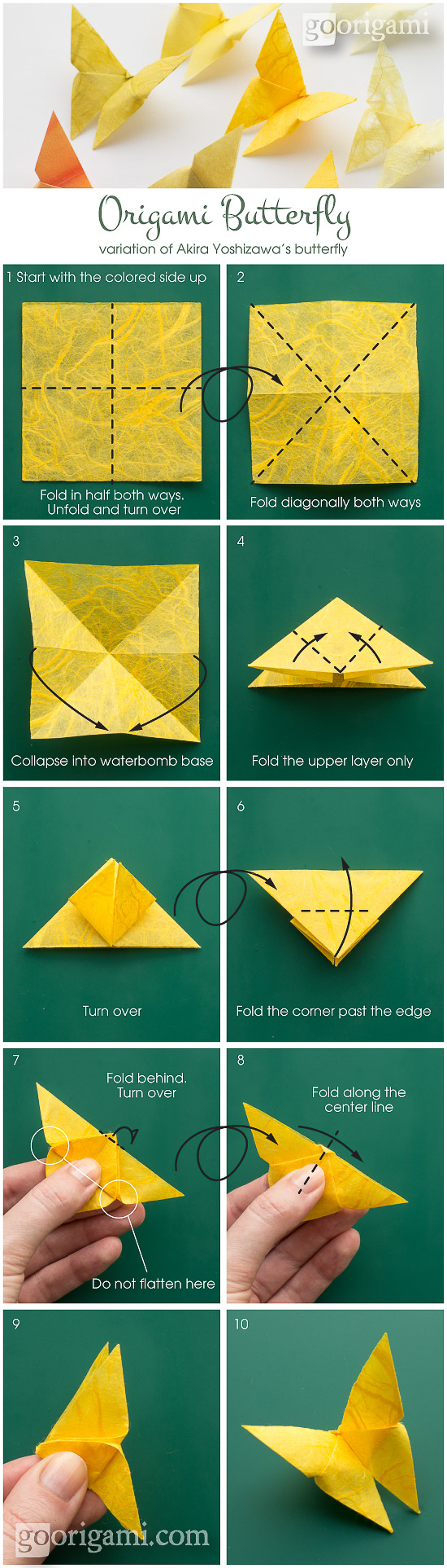 Best Origami Butterfly Ever Instructions Go Diagram For Kids Pin It On Pinterest