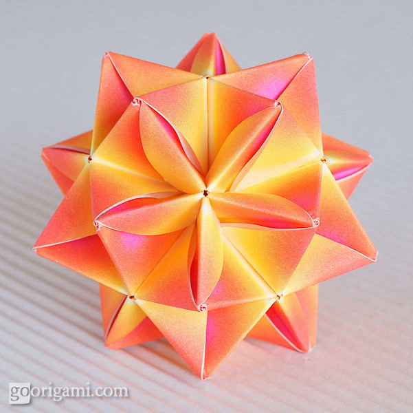 Origami KusudamaOrigami Kusudama