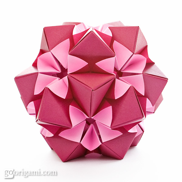 star Modular M Origami, S kusudama Origami Origami  Origami Kusudama, Boxes, origami instructions Origami,
