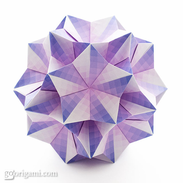 Unit origami fantasy by tomoko fuse book go origami bellflower kusudama mightylinksfo