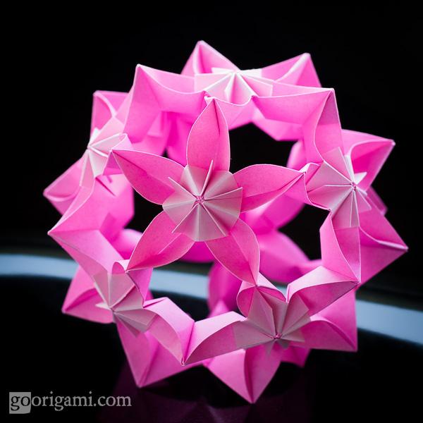 Kusudama Origami  U2014 Gallery