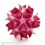 Czarina Flower Kusudama