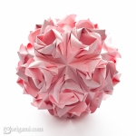 Rose Ball Kusudama