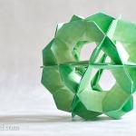 Pinwheel Ball Kusudama