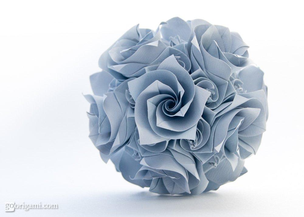 Versailles Kusudama By Krystyna Burczyk Go Origami