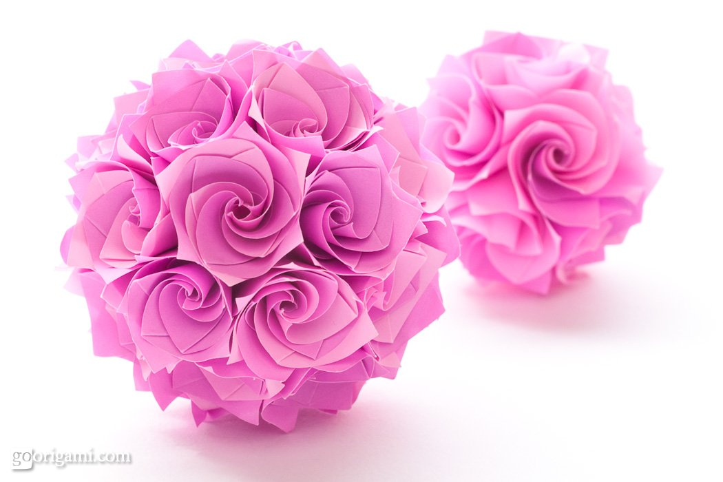 How To Make Rose Paper Origami