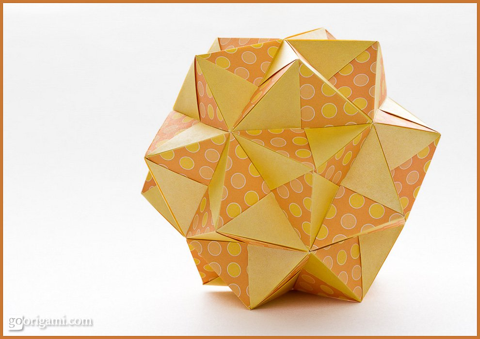 Modular Origami Sonobe Variations