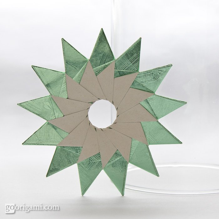 13-Pointed Origami Star