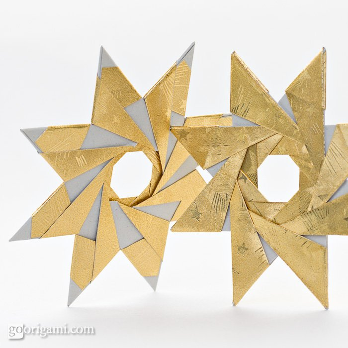 Origami-Instructions.com: 8-pointed Origam