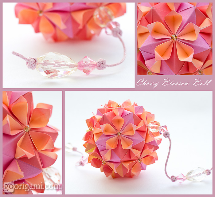 Cherry Blossom Ball by Tomoko Fuse