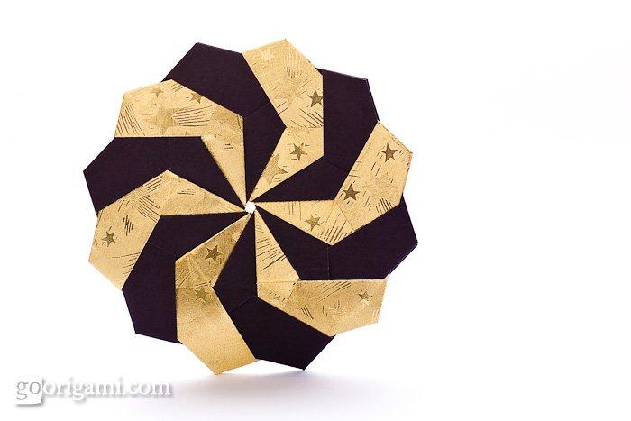 Origami Eifel Star