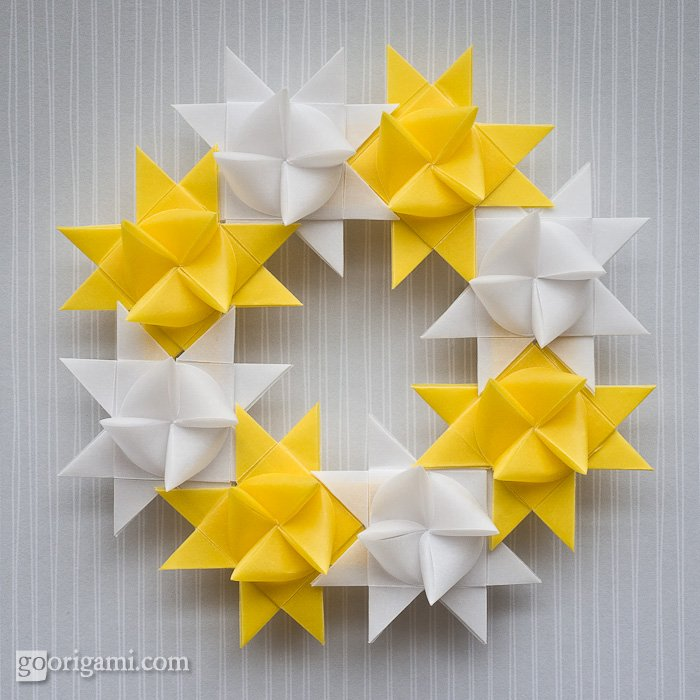 Froebel Star Wreath