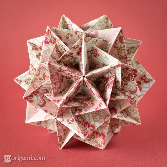 Modular origami - Wikipedia, the free encyclopedia