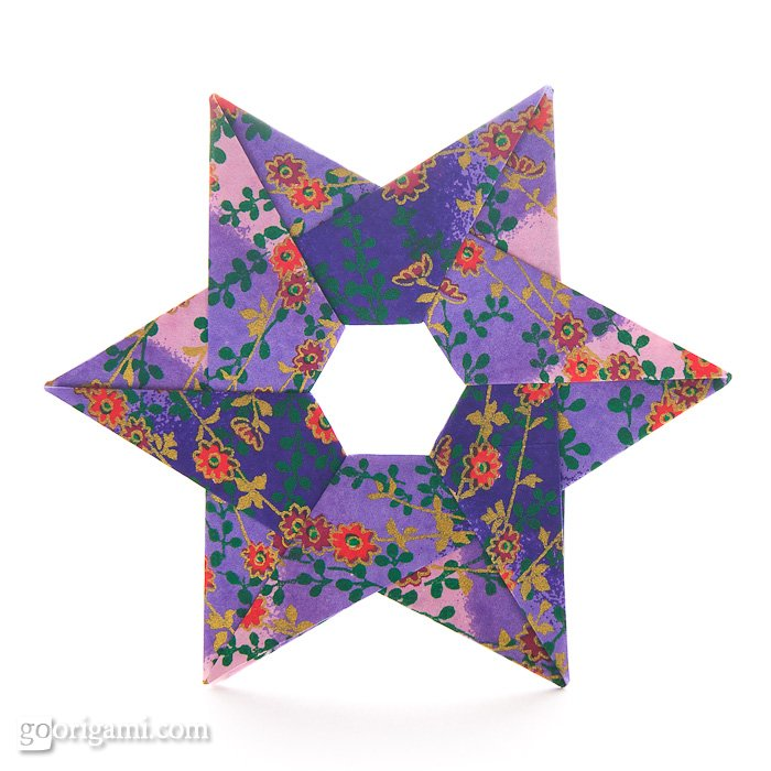 Hexa Origami Star by Francis Ow