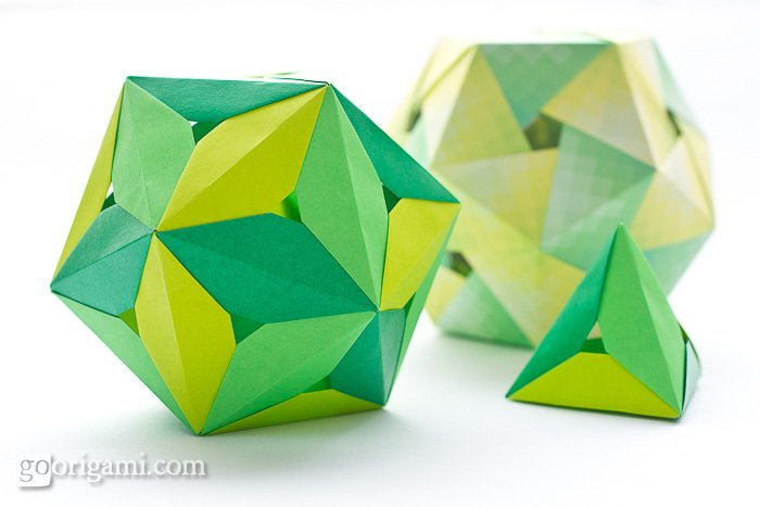 Origami Polyhedra by Tomoko Fuse