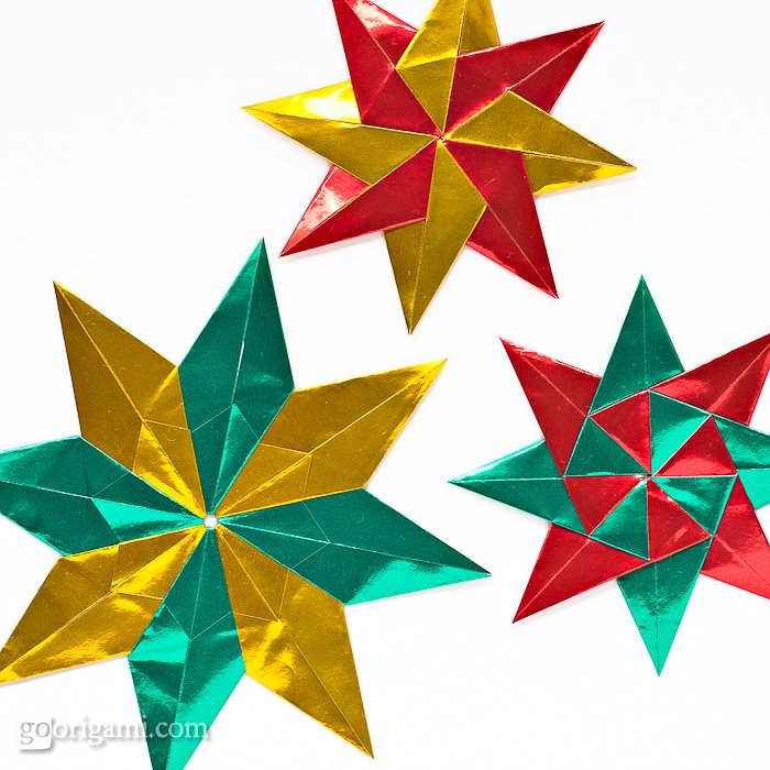 Origami Stars for Christmas | Go Origami!
