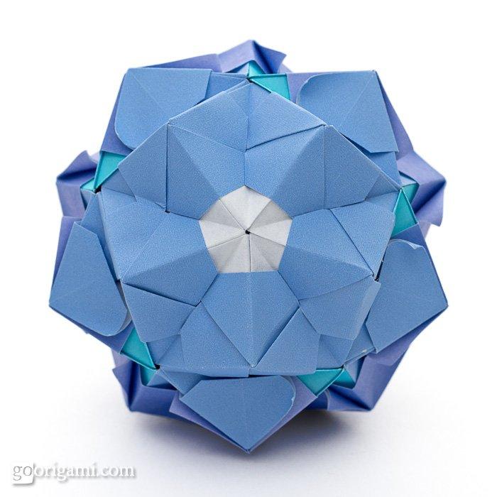 sonobe variation by maria sinayskaya go origami