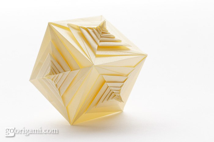 tomoko fuse spiral diagram die spiral diagram spiral faced cube by tomoko fuse — modular origami | go origami