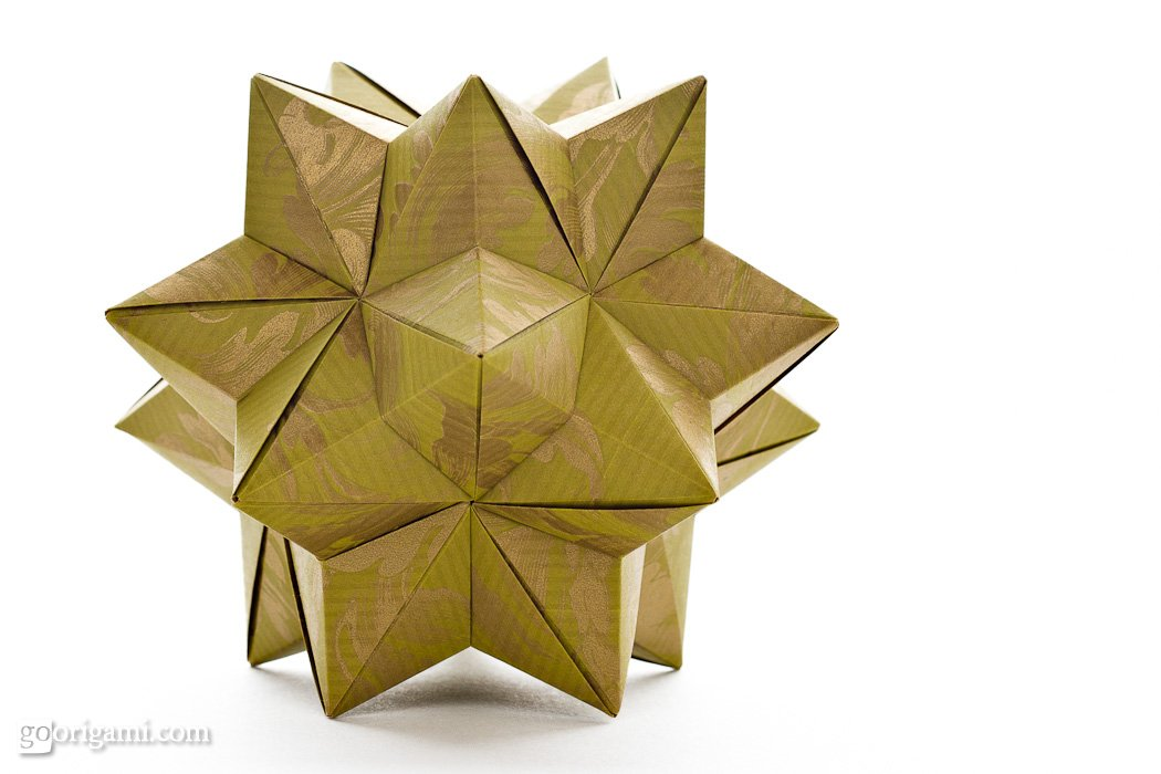 Star Ball By Tomoko Fuse Modular Origami