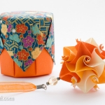 Curler Kusudama and Origami Box
