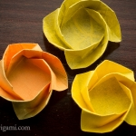 Origami Flower Dish