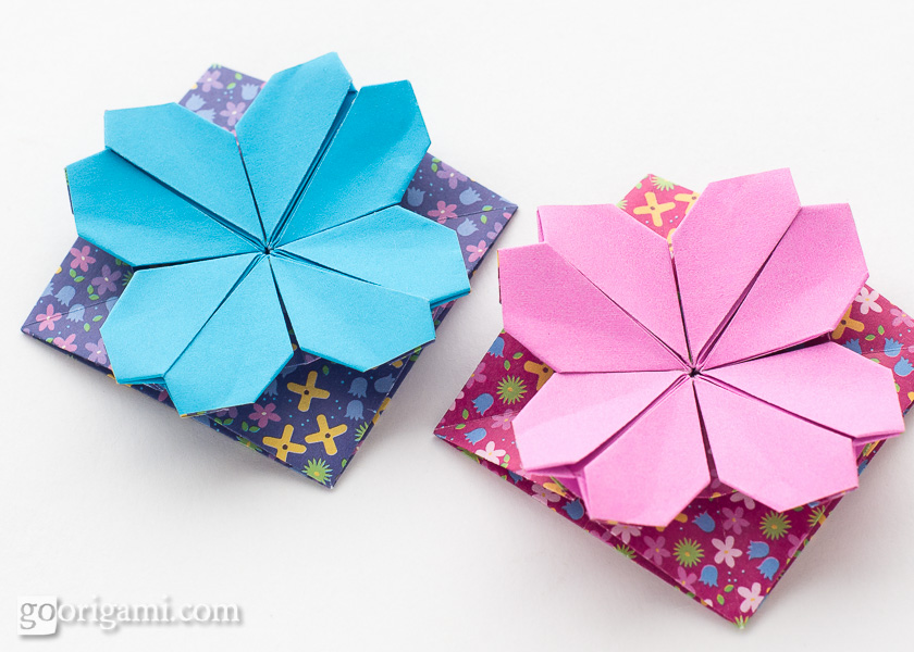 Origami Flowers and Plants | Go Origami