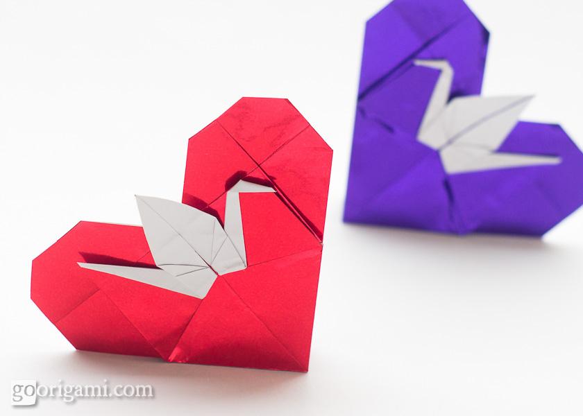 Origami Hearts — Gallery | Go Origami