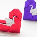 Origami Crane Heart