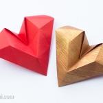 Geometric Origami Heart