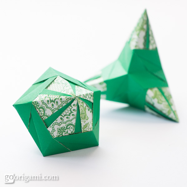 origami polyhedra � gallery go origami