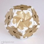 Origami Dodecahedron