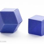 Origami Rhombic Dodecahedron and Cube