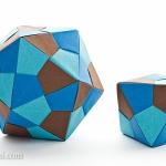 Origami Icosahedron and Octahedron