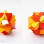 60-Degree Origami Modular