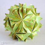 Brightly Kusudama