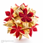 Double Flower Kusudama