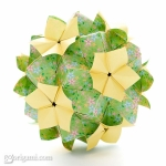 Indian Summer Kusudama