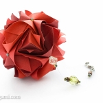 Royal Rose Kusudama