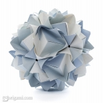 Lotus Crown Kusudama