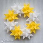 Froebel Star Wreath