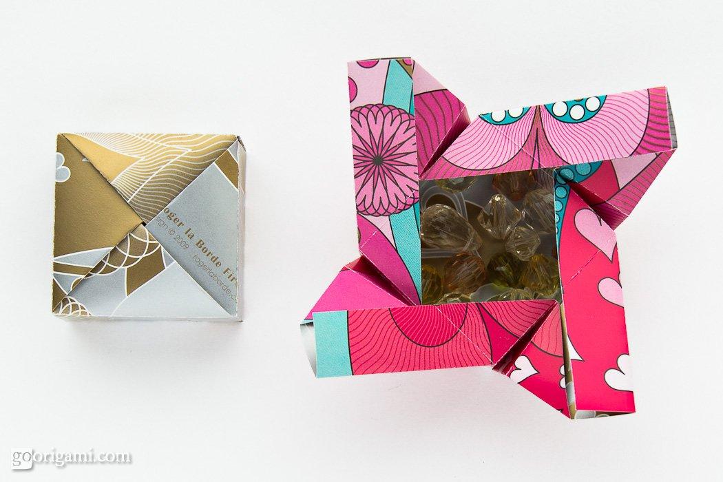 Origami Boxes By Robin Glynn And Carmen Sprung Go Origami