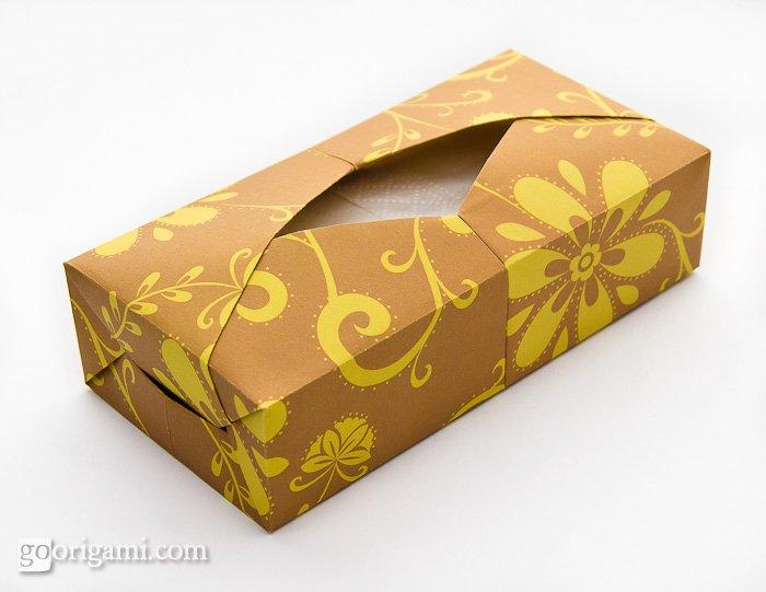 Origami Tissue Box