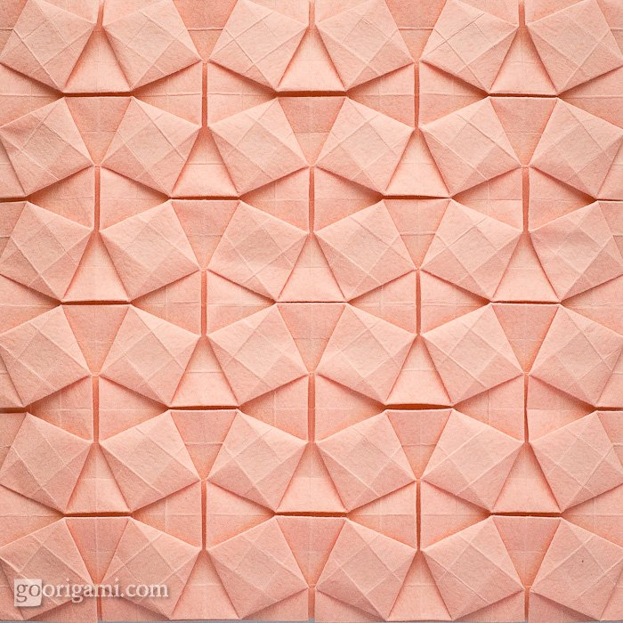 Square Weave Tessellation By Eric Gjerde