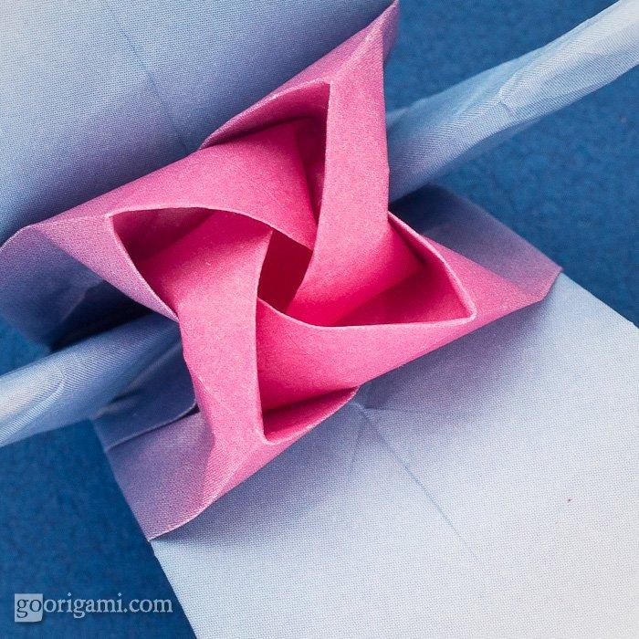Origami Tsuru Rose, Kawasaki Rose Crane