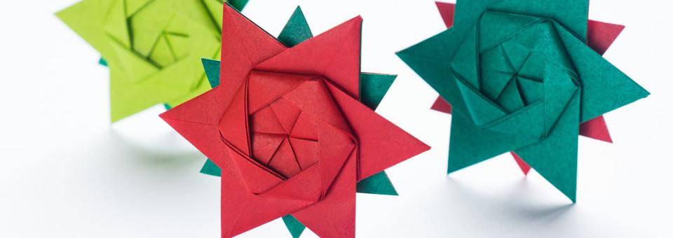 Go origami modular origami kusudama stars by maria sinayskaya 12 pointed origami star mightylinksfo