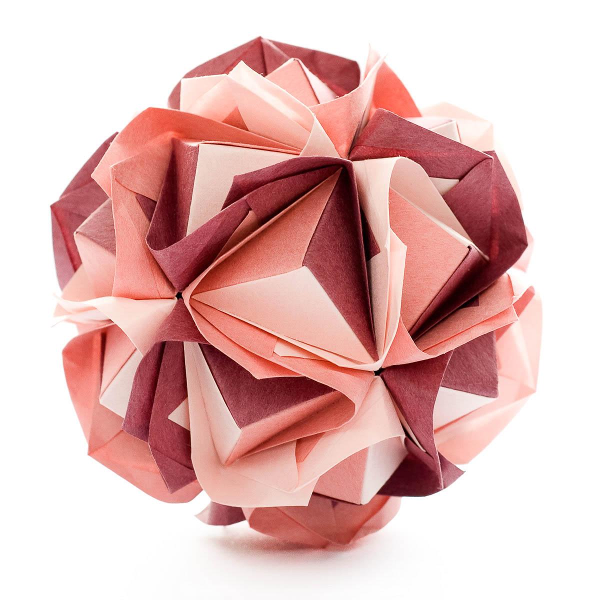 89 Origami Flower Ball Instructions Step By Kusudama Flowers Diagrams Clover Maria Sinayskaya Diagram