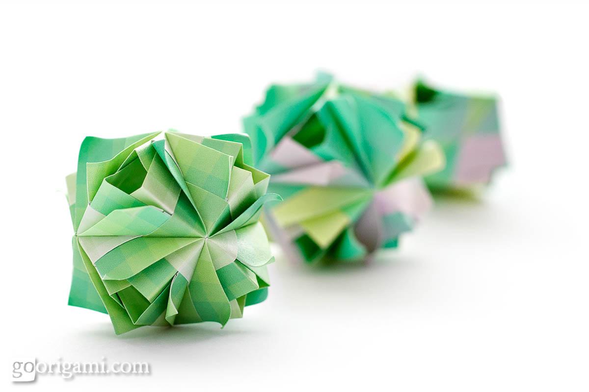 Etna Kusudama By Maria Sinayskaya Diagram Go Origami