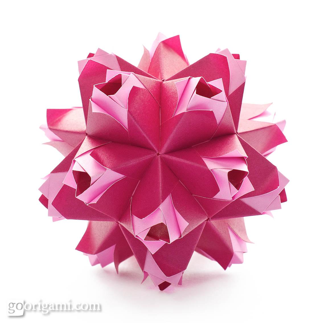 Caramel kusudama by maria sinayskaya diagram go origami caramel kusudama pooptronica